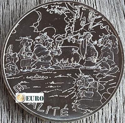 10 euro Frankrijk 2015 - Asterix égalité gladiator