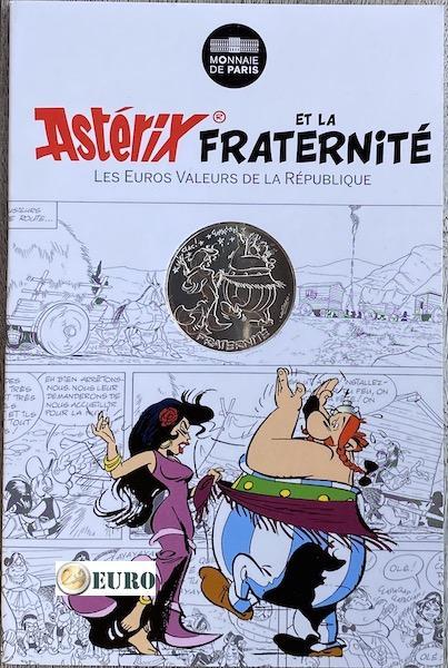 10 euro Frankrijk 2015 - Asterix fraternité in Hispania - in coincard