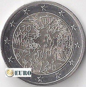 2 euro Duitsland 2019 - D Berlijnse Muur UNC