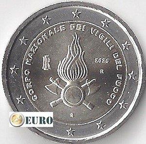 2 euro Italie 2020 - 80 jaar brandweer UNC