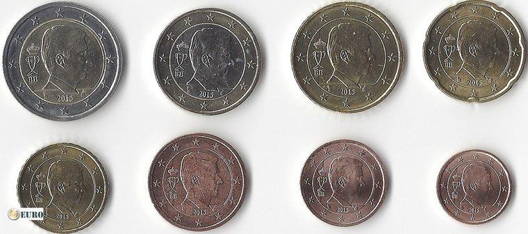 Euro set UNC België 2016
