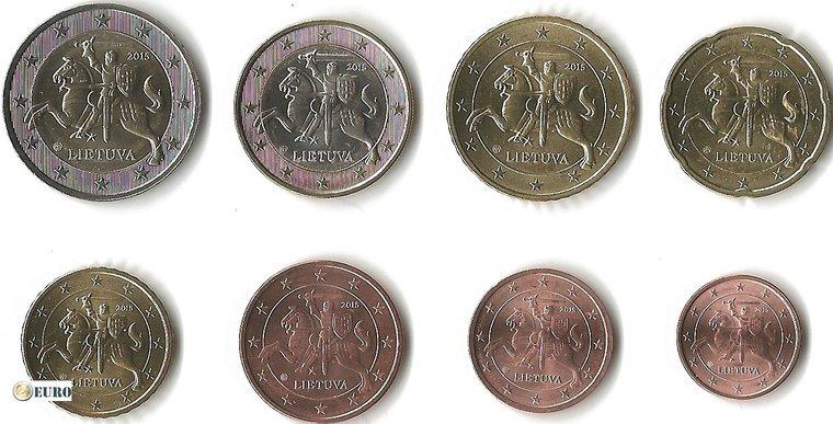 Euro set UNC Litouwen 2015