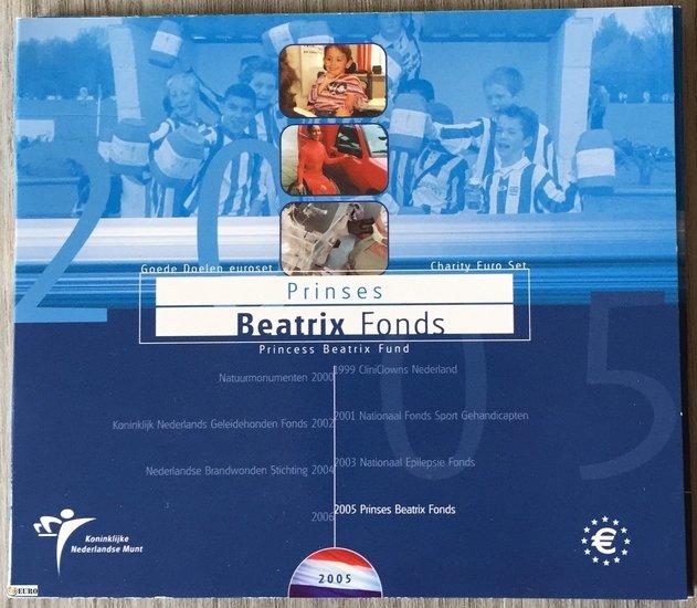 Euro set BU FDC Nederland 2005 Beatrix Fonds