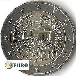 2 euro Duitsland 2015 - G Duitse Eenmaking UNC