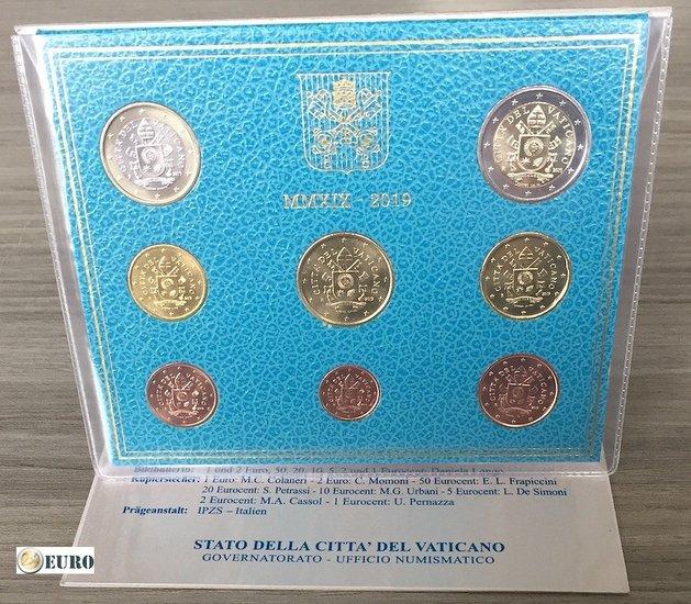 Euro set BU FDC Vaticaan 2019