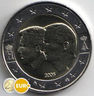 Belgie 2005 - 2 euro BLEU UNC