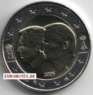Belgique 2005 - 2 euros UEBL UNC