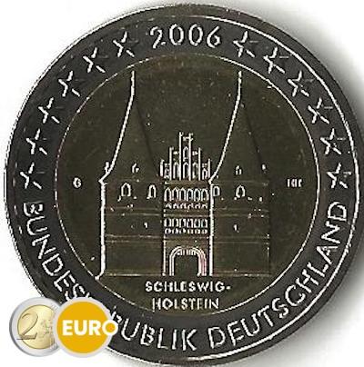 Duitsland 2006 - 2 euro G Schleswig-Holstein UNC