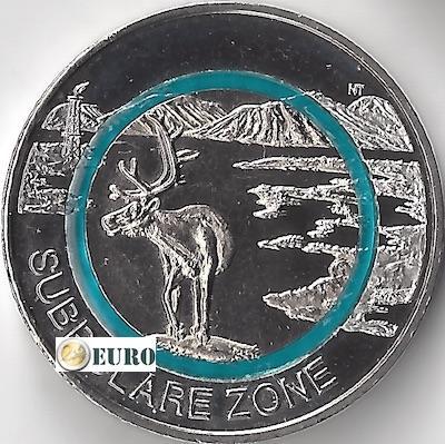 5 euro Duitsland 2020 - Subpolaire zone UNC