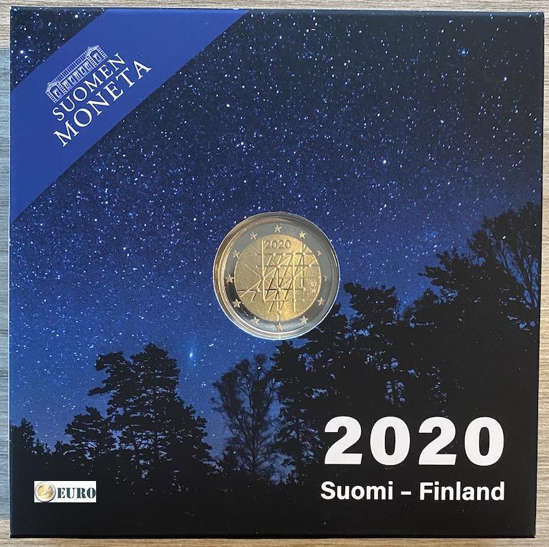 2 euros Finlande 2020 - Université de Turku BE Proof