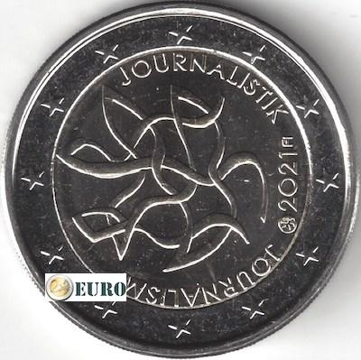 2 euro Finland 2021 - Journalistiek UNC