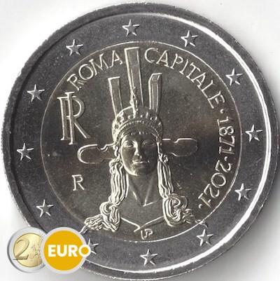 2 euro Italie 2021 - 150 jaar Rome Hoofdstad UNC
