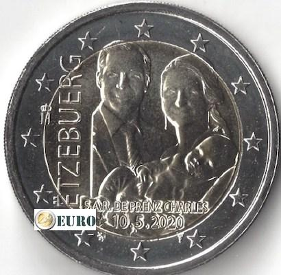2 euros Luxembourg 2020 - Charles de Luxembourg UNC