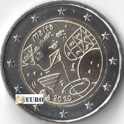 2 euro Malta 2020 - Spelletjes UNC