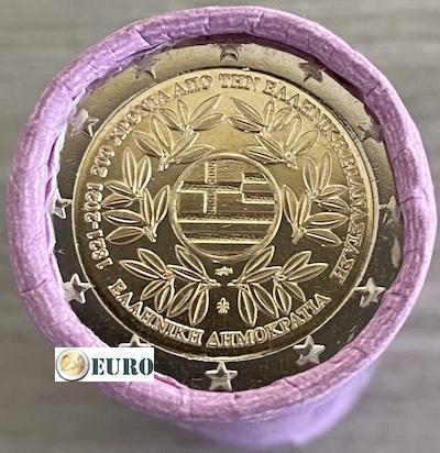 Rouleau 2 euros Grèce 2021 - Révolution grecque