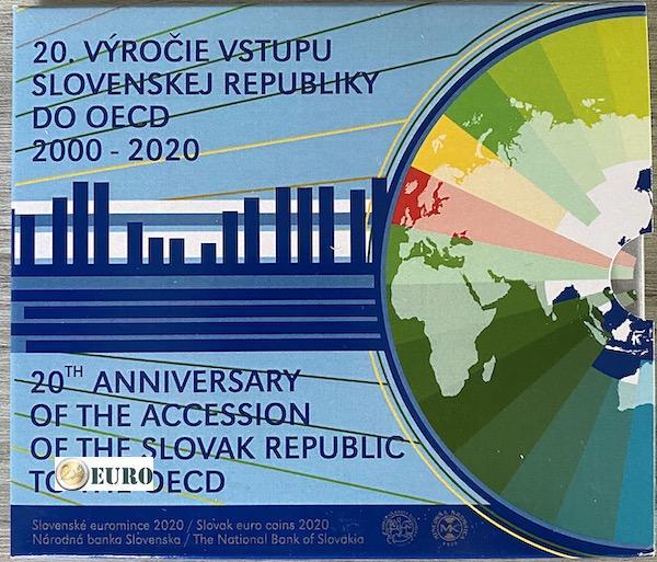 Euro set BU FDC Slowakije 2020 - Toetreding tot OESO