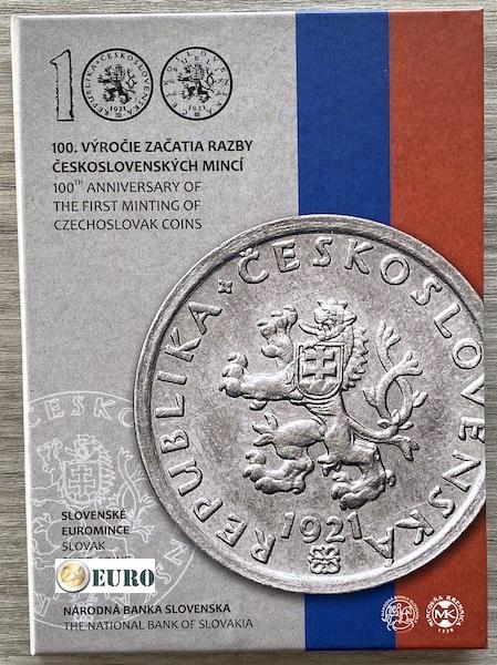 Euro set BE Proof Slowakije 2021 - Tsjechoslowaakse munten