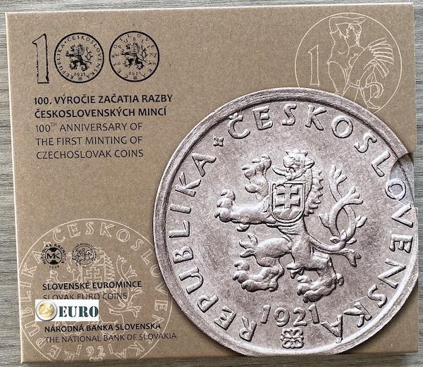 Euro set BU FDC Slowakije 2021 - Tsjechoslowaakse munten