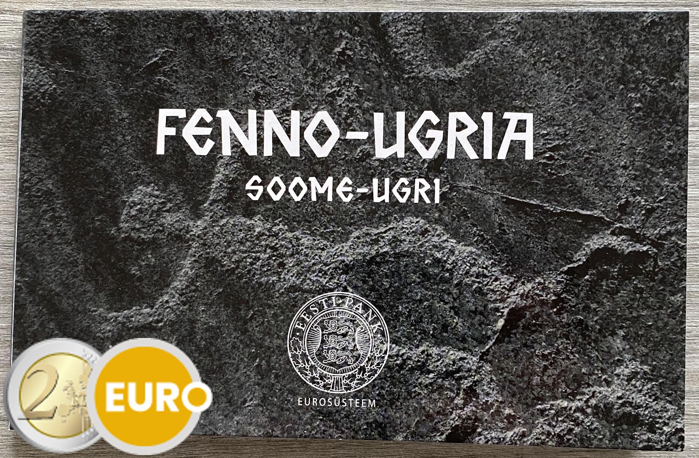 2 euro Estland 2021 - Fins-Oegrische volkeren BU FDC Coincard