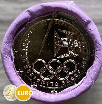 Rouleau 2 euros Portugal 2021 - Jeux Olympiques