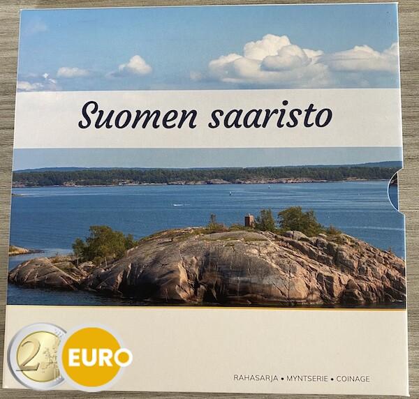 Euro set BU FDC Finland 2021 Finnish archipelago