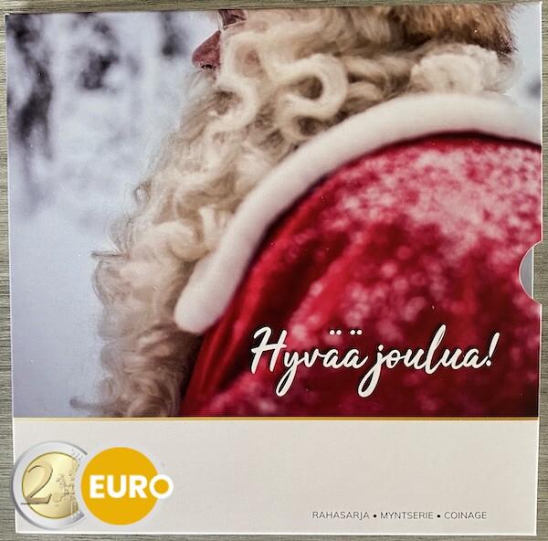 Euro set BU FDC Finland 2021 Christmas