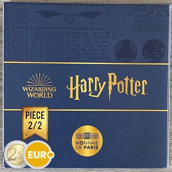 250 euro Frankrijk 2021 - Harry Potter Gouden Snaai BE Proof goud