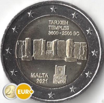 2 euro Malta 2021 - Tempel Tarxien UNC